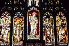The east window by Burne-Jones