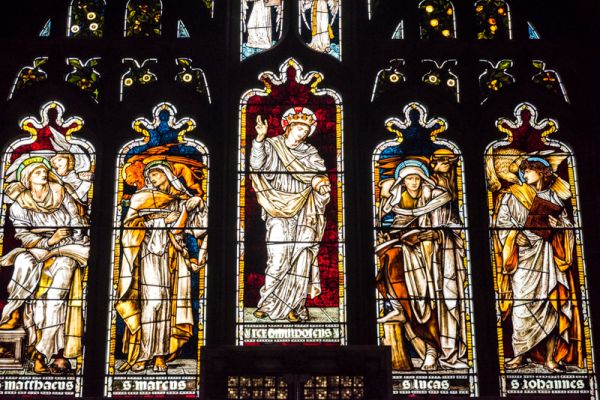 Youlgreave, All Saints Church (Youlgrave) photo, The east window by Burne-Jones