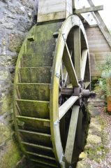 Zennor Mill waterwheel (c) ashley Dace