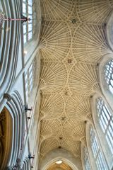 Bath Abbey, Nave vaulting