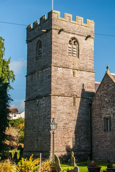 Llangors, St Paulinus Church photo, The 15th century west tower