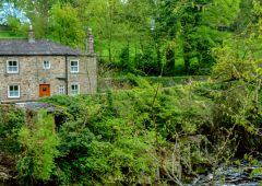 Aysgarth, A cottage by the River Ure