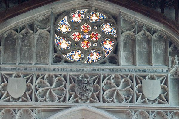Rose Window Definition Illustrated Dictionary Of British Churches