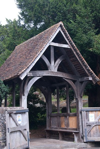 Lych Gate Definition Illustrated Dictionary Of British