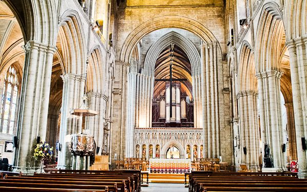 Ripon Cathedral nave, Yorkshire