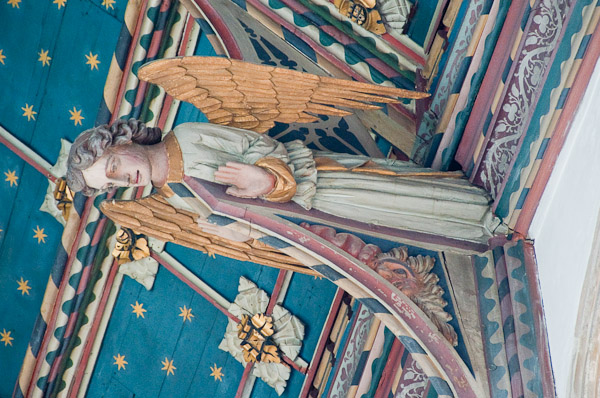 Angel Roof Definition Illustrated Dictionary Of British
