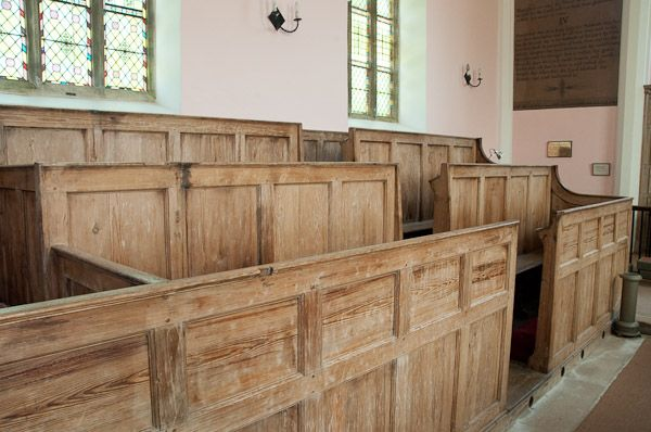 Box pews at Teigh, Rutland