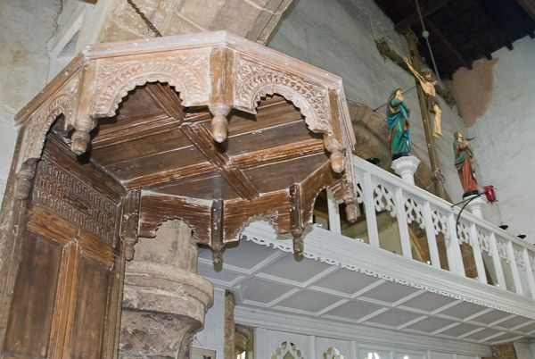 Pulpit Canopy Walesby Lincolnshire & Canopy definition Illustrated Dictionary of British Churches ...