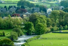 Hawes and the River Ure