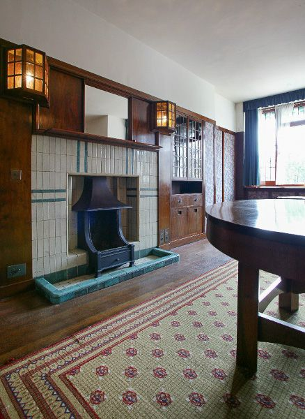 78 Derngate photo, The dining room (image is courtesy 78 Derngate)