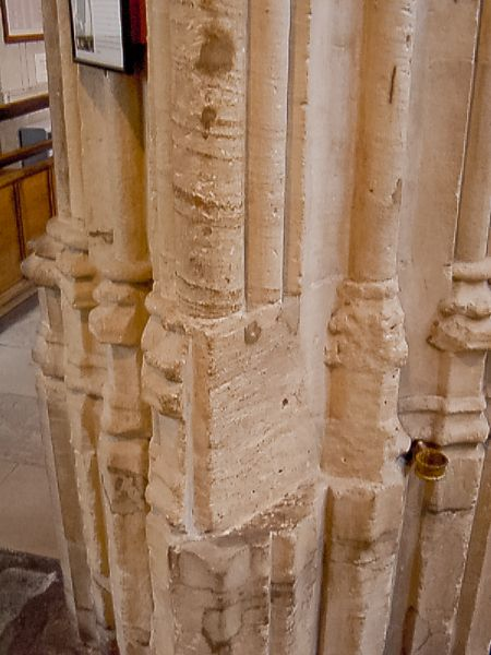Oxford, University Church of St. Mary the Virgin photo, The Latimer/Ridley trial pillar