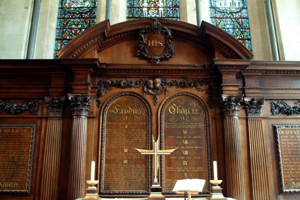 Temple Church photo, The altar, by Christopher Wren