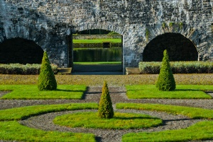 Formal topiary gardens