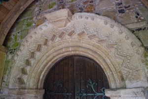 The Norman doorway arch