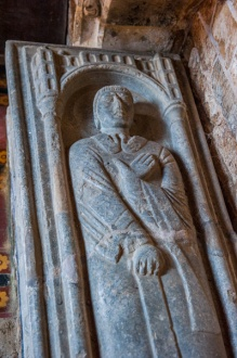 The 13th century effigy