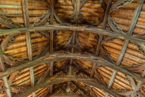 Gueston Hall timber roof
