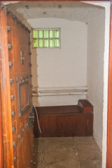 A gaol cell in the Cell Block