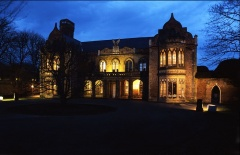 Ayscoughfee Hall at Night