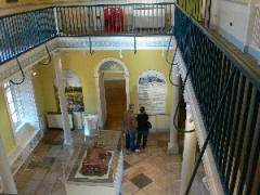 The museum entrance hall