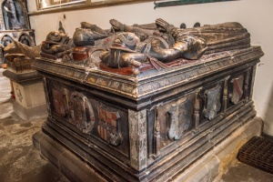 Tomb of Sir George Vernon, 'King of the Peak'