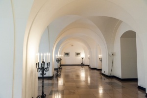 Inigo Jones' vaulted cellars