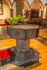The 15th century marble font