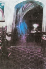 Photo of the Lady in Blue ghost