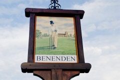 Village sign, Benenden, Kent