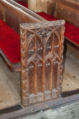 16th c bench end