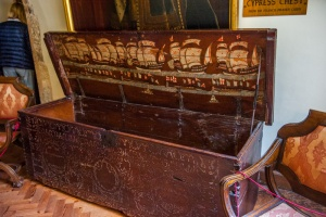 Sir Francis Drake's chest