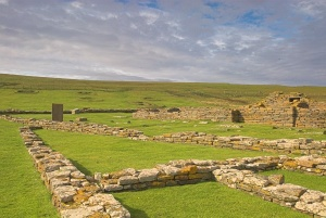Foundation walls at Birsay