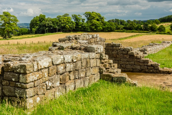 Black Carts Turret and Hadrian's Wall
