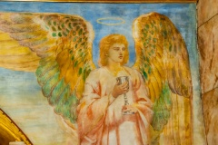 Angel with Chalice mural