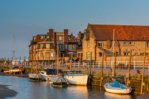 The harbour and Blakeney Hotel