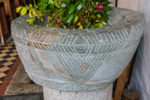 The Norman font bowl