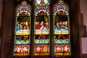 Mary Woodiwis memorial window, 1871