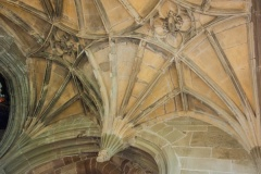Morton Chapel fan vaulting