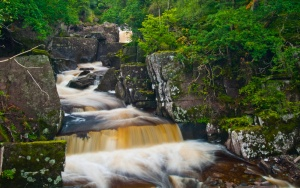 Bracklinn Falls at Callander
