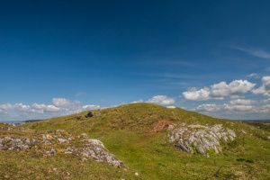 The Iron Age fort on Brean Down