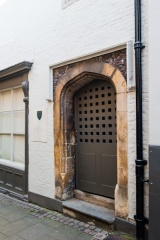 The original medieval door