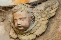 Cherub on William Taylor memorial