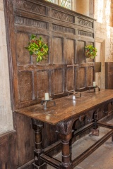 The 17th century altar table