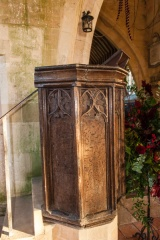 The Jacobean pulpit