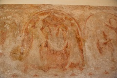 13th century painting, south chancel wall