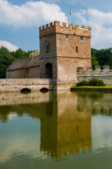 Gatehouse and moat