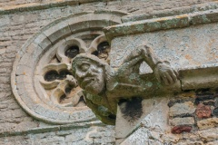 Grotesque carving, south aisle