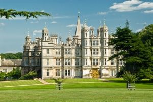 Burghley House landscaped grounds