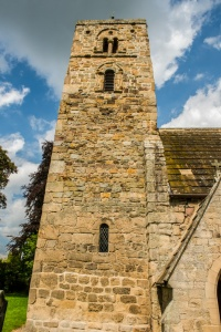 The 9th century church tower
