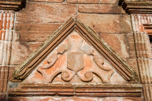 Early 17th century carved panel, Nithsdale Lodging