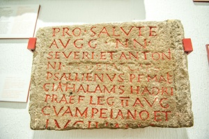 2nd century inscribed tablet